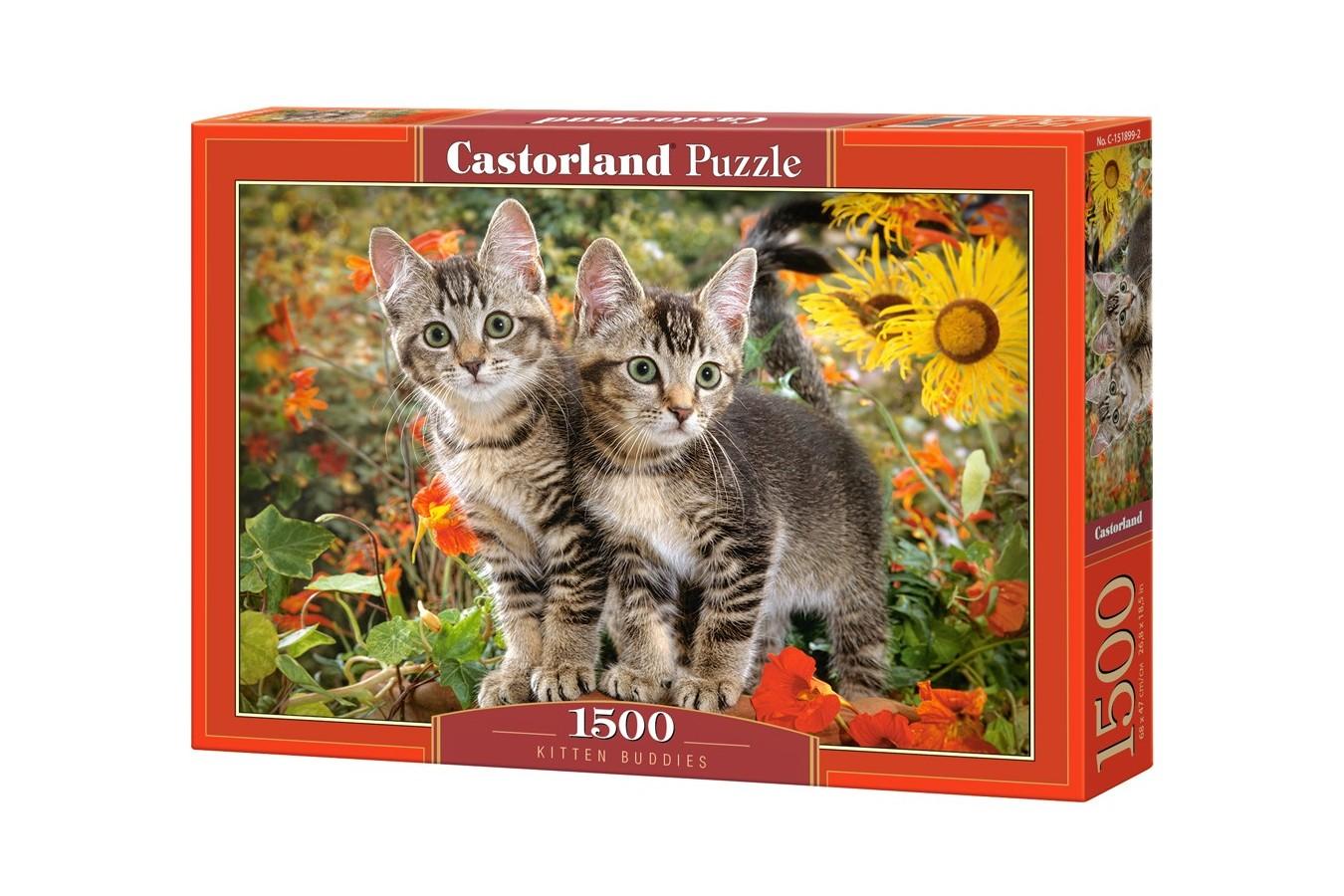 Puzzle Castorland - Kitten Buddies, 1500 piese (151899)