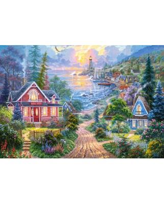 Puzzle Castorland - Coastal Living, 1500 piese (151929)