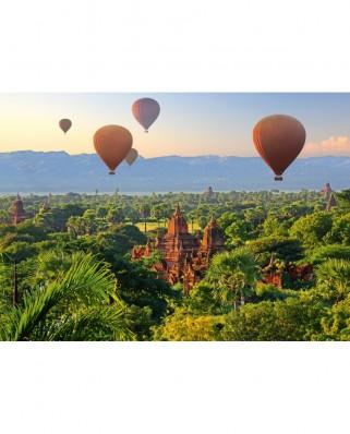Puzzle Schmidt - Hot Air Balloons, Mandalay, Myanmar, 1.000 piese (58956)