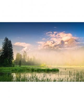 Puzzle Schmidt - Lake Taubensee, 1.000 piese (59696)