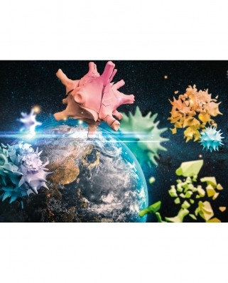 Puzzle Schmidt - Planet Earth 2020, 1.000 piese (58963)