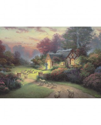 Puzzle Schmidt - Spirit, The Good Shepherd's Cottage, 1.000 piese (59678)
