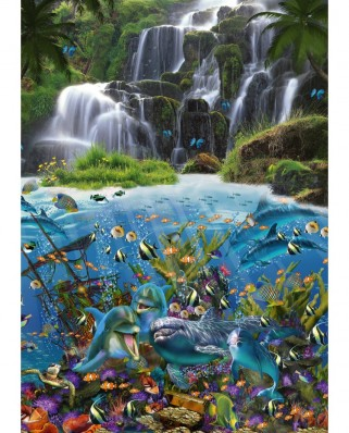 Puzzle Schmidt - Waterfall, 1.000 piese (59684)