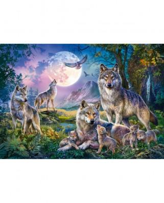 Puzzle Schmidt - Wolves, 1500 piese (58954)