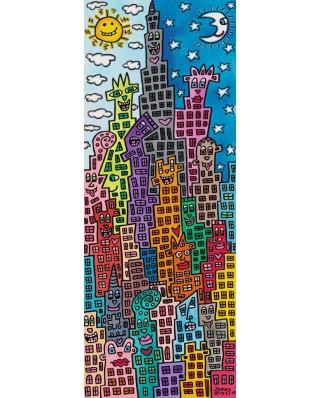 Puzzle Ravensburger - Rizzi James: Cladiri Amuzante, 1.000 piese (15065)