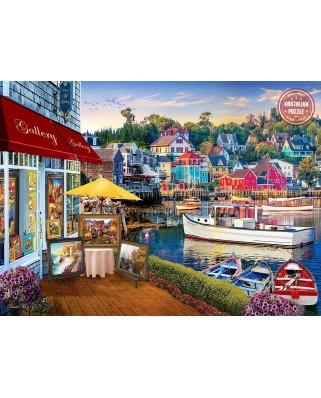 Puzzle Anatolian - David McLean: Harbour Gallery, 1.000 piese (1069)