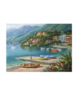 Puzzle Anatolian - Hillside Harbor Cove, 1.000 piese (1096)