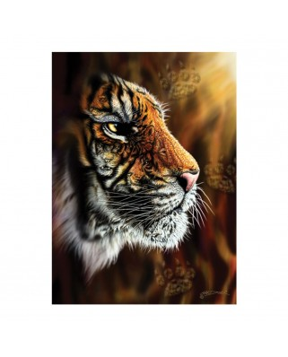 Puzzle Anatolian - Wild Tiger, 1.000 piese (1097)