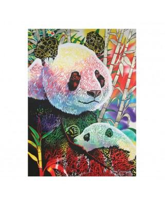 Puzzle Anatolian - Rainbow Panda, 1.000 piese (1099)