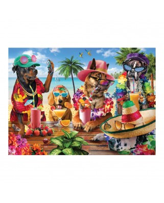 Puzzle Anatolian - Tropical Party Dogs, 1.000 piese (1102)
