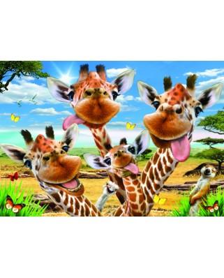 Puzzle Anatolian - Giraffe Selfie, 500 piese (3617)
