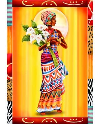 Puzzle Anatolian - African Women, 2x500 piese (3619)