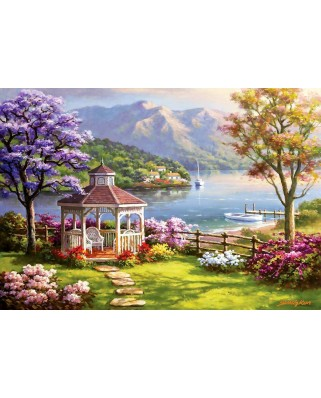 Puzzle Anatolian - Sung Kim: Crystal Lake Retreat, 2.000 piese (3949)