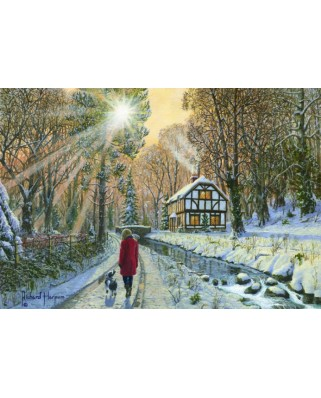 Puzzle Anatolian - Snowy Forest, 2.000 piese (3954)