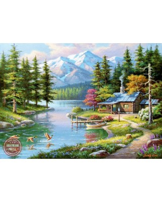Puzzle Anatolian - Sung Kim: Resting Canoe, 1500 piese (4554)