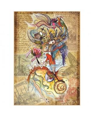 Puzzle Anatolian - Circassian Girl Taveling the World, 1500 piese (4560)