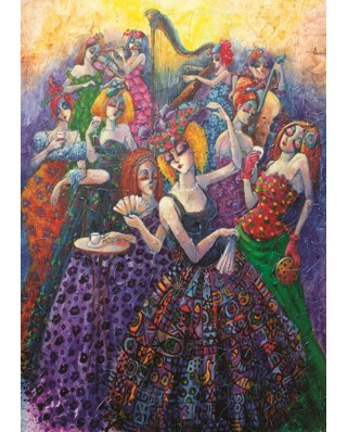 Puzzle Anatolian - Romantic Ballroom, 1500 piese (4561)