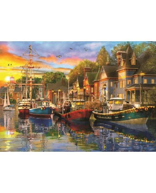 Puzzle Anatolian - Harbour Lights, 1500 piese (4564)