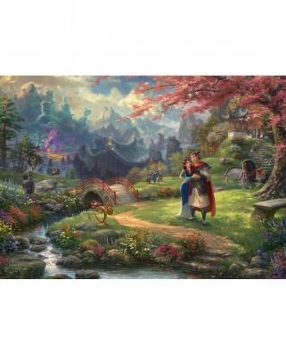 Puzzle Schmidt - Thomas Kinkade: Mulan, 1.000 piese (59672)
