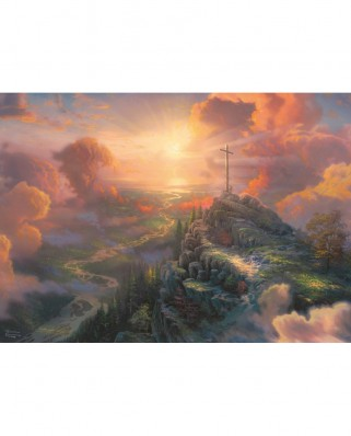 Puzzle Schmidt - Thomas Kinkade: The Cross, 1.000 piese (59679)