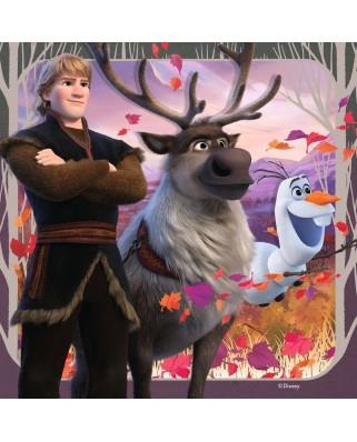 Puzzle Ravensburger - Frozen II, 25/36/49 piese (03033)