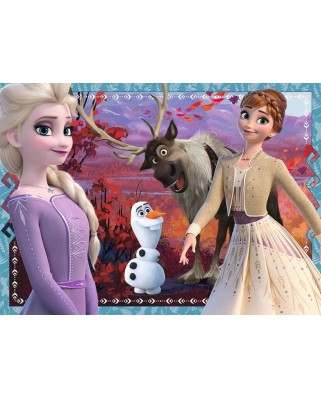 Puzzle Ravensburger - Frozen II, 4x42 piese (05023)