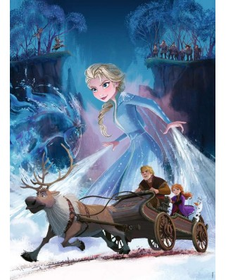Puzzle Ravensburger - Frozen II, 200 piese (12865)