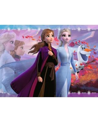 Puzzle Ravensburger - Frozen II, 100 piese (12868)