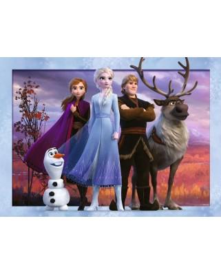 Puzzle Ravensburger - Frozen II, 4x100 piese (12885)
