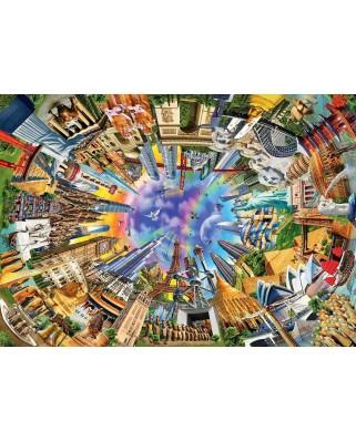Puzzle Anatolian - 360 World, 3000 piese (4916)