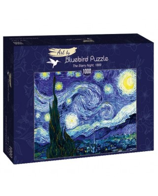 Puzzle Bluebird - Vincent Van Gogh: The Starry Night, 1889, 1.000 piese (60001)