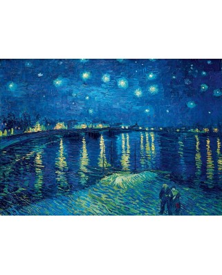 Puzzle Bluebird - Vincent Van Gogh: Starry Night over the Rhone, 1888, 1.000 piese (60002)