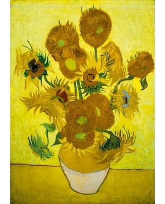 Puzzle Bluebird - Vincent Van Gogh: Sunflowers, 1889, 1.000 piese (60003)