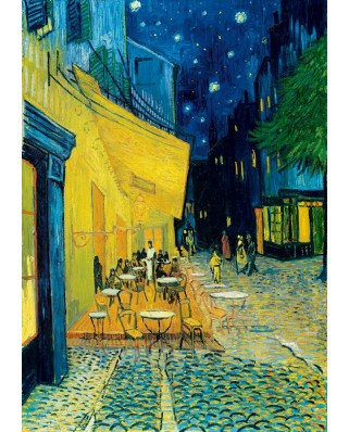 Puzzle Bluebird - Vincent Van Gogh: Cafe Terrace at Night, 1888, 1.000 piese (60005)