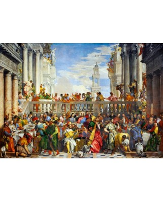 Puzzle Bluebird - Paolo Veronese: The Wedding at Cana, 1563, 1000 piese (60011)