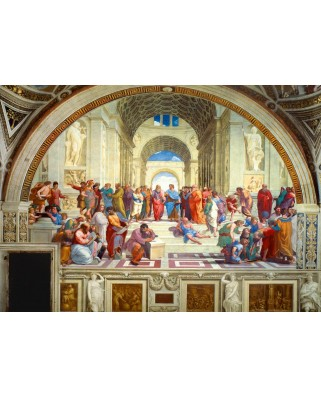 Puzzle Bluebird - Raphael: The School of Athens, 1511, 1.000 piese (60013)
