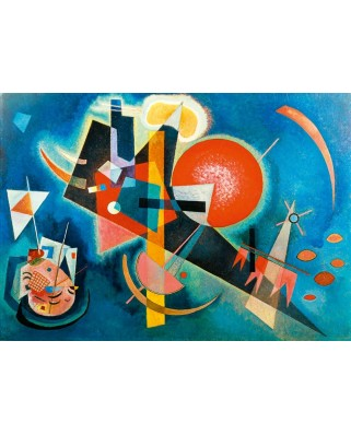 Puzzle Bluebird - Vassily Kandinsky: Kandinsky - In Blue, 1925, 1.000 piese (60021)