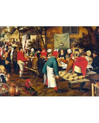Puzzle Bluebird - Pieter Bruegel: Peasant Wedding Feast, 1000 piese (60025)