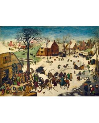 Puzzle Bluebird - Pieter Bruegel: The Census at Bethlehem, 1566, 1000 piese (60026)