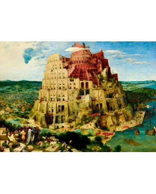 Puzzle Bluebird - Pieter Bruegel: The Tower of Babel, 1563, 1.000 piese (60027)