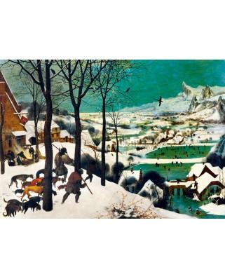 Puzzle Bluebird - Pieter Bruegel: Hunters in the Snow (Winter), 1565, 1.000 piese (60029)
