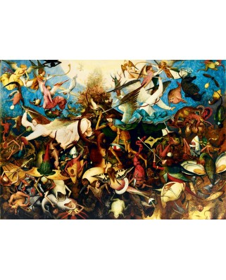 Puzzle Bluebird - Pieter Bruegel: The Fall of the Rebel Angels, 1562, 1.000 piese (60032)