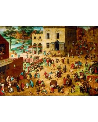Puzzle Bluebird - Pieter Bruegel: Children's Games, 1560, 1000 piese (60034)