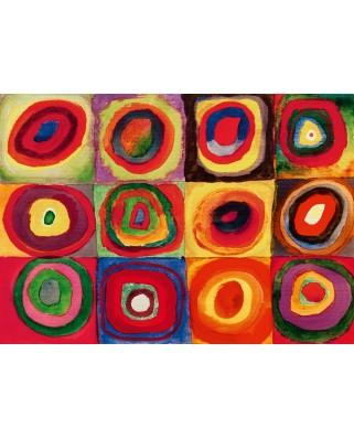 Puzzle Bluebird - Vassily Kandinsky: Colour Study, 1913, 1.000 piese (60035)