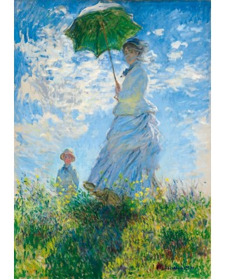 Puzzle Bluebird - Claude Monet: Woman with a Parasol - Madame Monet and Her Son, 1.000 piese (60039)
