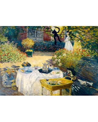 Puzzle Bluebird - Claude Monet: The Lunch, 1873, 1.000 piese (60040)