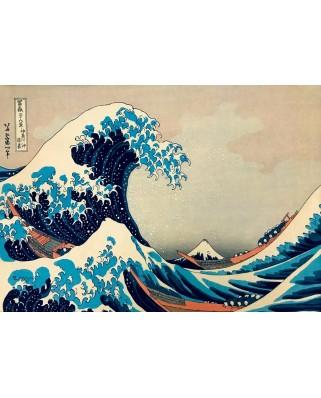 Puzzle Bluebird - Katsushika Hokusai: The Great Wave off Kanagawa, 1831, 1.000 piese (60045)