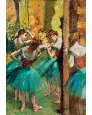 Puzzle Bluebird - Edgar Degas: Dancers, Pink and Green, 1890, 1.000 piese (60047)