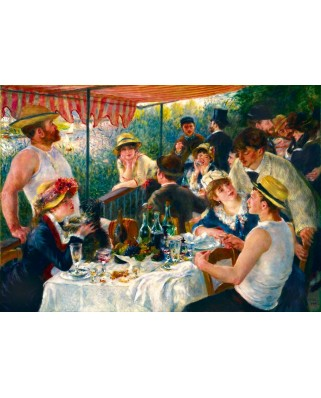 Puzzle Bluebird - Auguste Renoir: Luncheon of the Boating Party, 1881, 1000 piese (60048)