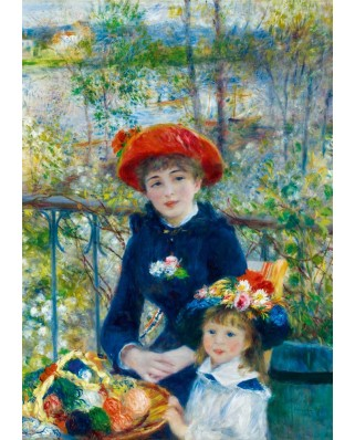 Puzzle Bluebird - Auguste Renoir: Two Sisters (On the Terrace), 1881, 1.000 piese (60050)